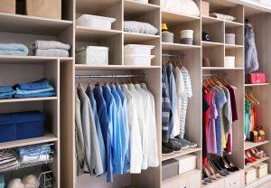 Garderobe is lenteproof