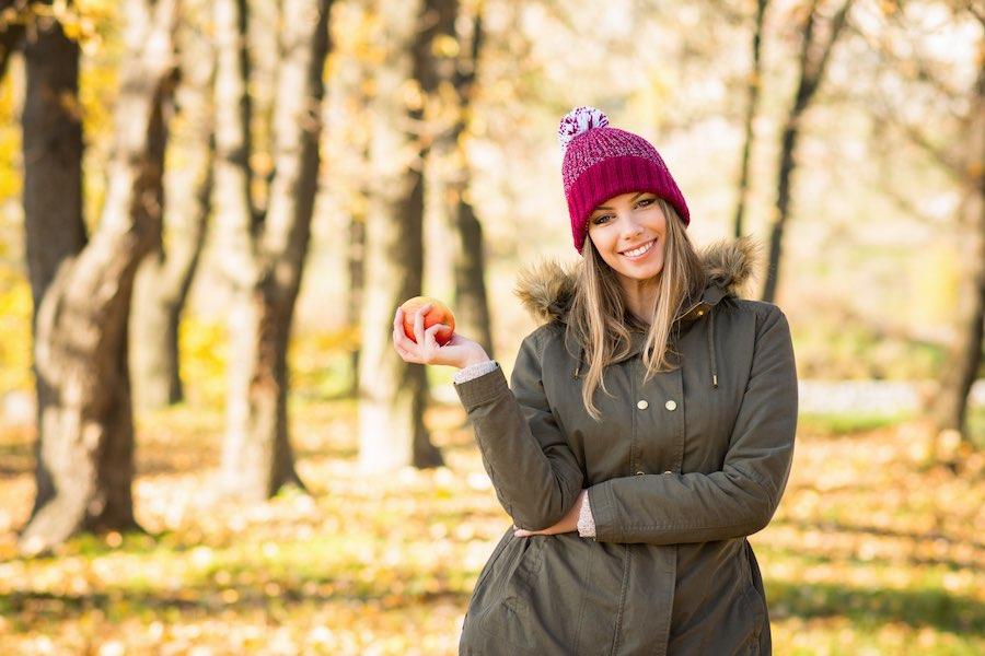 Groen één van de trendkleuren mode herfst winter