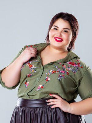 Trendy look blouse musthave garderobe