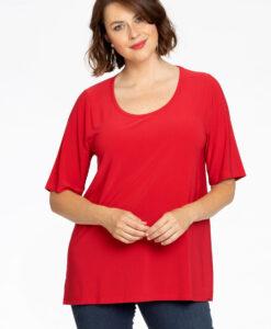 Basic T-shirt A-lijn DOLCE 54/56 red